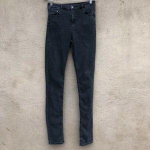 & Denim H&M Skinny High Waist Black Gray Size 30